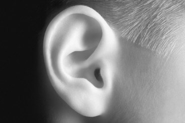 Rare gene variant associated with middle ear infections